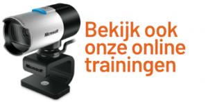 Banner: Bekijk onze trainingen
